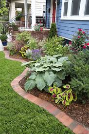 garden pavers for bed edging tips. Use Clay Pavers To Form A Tidy Border Separate Your Lawn From Plantings Garden For Bed Edging Tips P