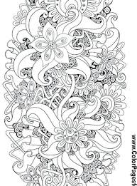 Printable Coloring Pages Of Flowers And Butterflies Printable Coloring Pages For Adults Flowers Healthwarehouse Co