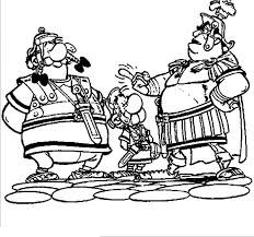 Kleurplaat Asterix Obelix Romeinen Malvorlage Asterix Und Obelix