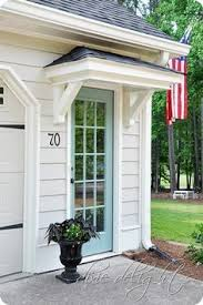 front door awning ideasThe perfect front door awning  This is the Bronze Juliet style