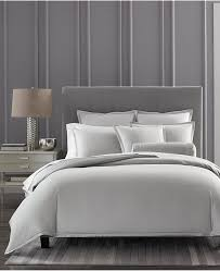 hotel collection cotton ladder stitch pique full queen duvet cover created for macy s bedding