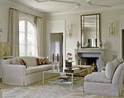 square wall mirrors for vintage living room decor with elegant white curtains and fireplaces