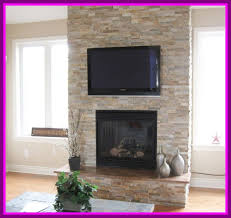calm cobble stone decor refacing brick fireplace family room brickfireplace reface fullsize universal blower kit fan