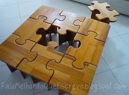 diy puzzle table