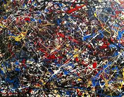 abstract painting untitled 5 jackson pollock inspired by vanessa carpenter