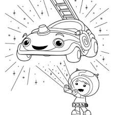 Small Picture Team Umizoomi Coloring Page for Kids Color Luna