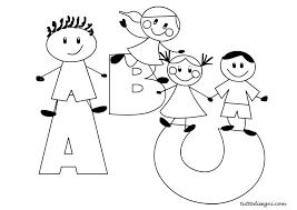 Disegni Da Colorare Bambini Scuola Infanzia Fredrotgans