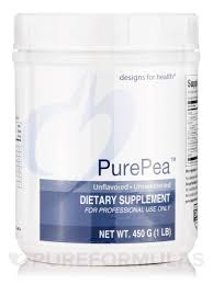 Designs For Health Pea Protein Unflavored Purepea Unflavored Unsweetened 1 Lb 450 Grams
