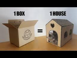Diy cat playhouse Tardis Cat Transform Simple Box Into Cat House Youtube Transform Simple Box Into Cat House Youtube