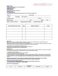 Urbanog Plus Size Size Chart Urbanog Return Label Fill Online Printable Fillable