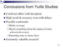 forensic psychology eye witness testimony 17
