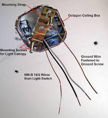 ceiling light fixture wiring diagram schematics and
