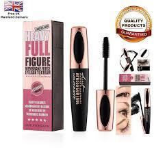 mac 4d silk fibre mascara eyelash waterproof extension volume long lasting make up ebay