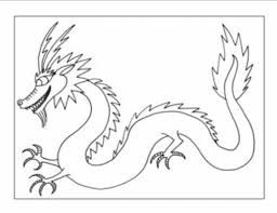 Small Picture oriental dragon with pagoda chinese new year dragon coloring page