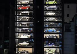 Singapore Car Vending Machine Location Fascinating Singapore Car 'vending Machine' Dispenses With Tradition