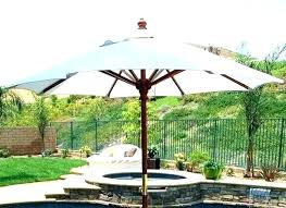 hampton bay 11 ft solar offset umbrella instructions living accents round with led lights patio str