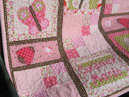 Butterfly Kisses Baby Girl Quilt- a little complicated, but it ... & Butterfly Kisses Baby Girl Quilt- a little complicated, but it might be fun  to Adamdwight.com