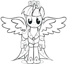 Pony Coloring Pony Color Page Coloring Printable My Little Pony