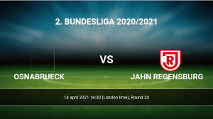 Maybe you would like to learn more about one of these? Osnabrueck Vs Jahn Regensburg H2h 14 Apr 2021 Head To Head Stats Prediction