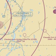Yyc Calgary Intl Ab Ca Airport Great Circle Mapper