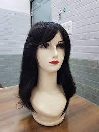 black women human hair wig with fringe