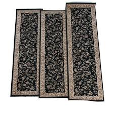 area rugs matching runners runner and octagon rug