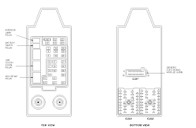 can i please get a diagram of the fuse box under the in a 2000 f150 how to find a fuse box on 2004 ford f150 central junction box