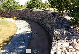 Small Picture Gabion baskets and Gabion wall design we create beautiful