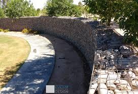 good commercial gabion wall with gabion walls design.