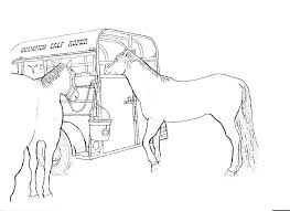 Horse Color Pages Carousel Horse Coloring Pages Free Printable