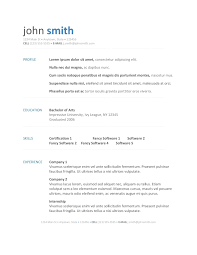 Resume Download Free Resume Template Download Free Open Office New Chic Resume 96