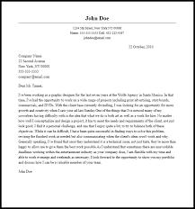 design cover letter samples professional graphic designer cover letter sample writing