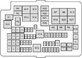 2011 2018 ford ranger t6 fuse box diagram fuse diagram engine compartment fuse box type 1 2011 2018 ford ranger t6 fuse box diagram