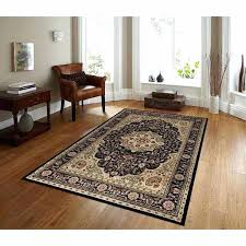 black and brown area rugs burdy ivory beige polypropylene oriental traditional rug 5 black brown and beige area rugs