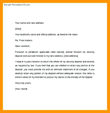 Rent Notice Letter Sample Intent Vacate Letter Landlord Necessary Notice Of Cooperative