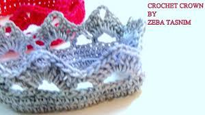 Crochet Crown Pattern Cool VERY EASY CROCHET CROWNA YouTube
