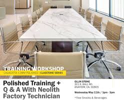 Ollin Stone Neolith Training