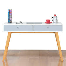 vintage style office furniture. Amazing Countess Scandinavian Style Office Desk Warm White Blue Also Simple Of Retro Vintage Furniture S