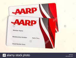 AARP membership cards Stock Photo - Alamy