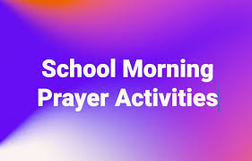 Image result for school morning prayer