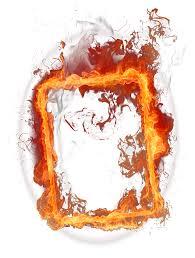 fire frame png image