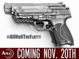 Ez Fit Trigger Shoe Chart Apex Announces Flat Faced Trigger For Smith Wesson M P M2