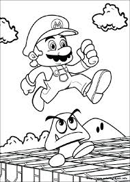 Mario Brothers Coloring Page Super Brothers Coloring Page Super