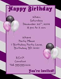 Birthday Invitation Flyer Template Unique Pin By FlyerTutor On Free Flyer Templates FlyerTutor