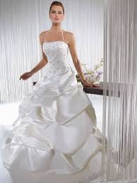 sleeveless taffeta wedding dress sang maestro