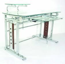 tempered glass office desk. Desk:Simple Wood Computer Desk Tempered Glass Office Desks \u0026 Writing