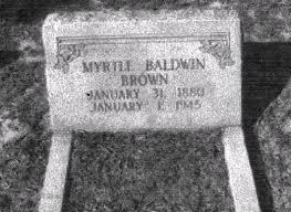 Myrtle Baldwin (1880 - 1945) - Genealogy