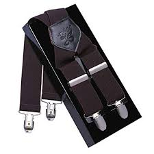 Kangdai <b>Men Suspenders 4</b> Buckle <b>Mens</b> Braces High Quality ...