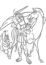 Hercules Coloring Pages Coloring