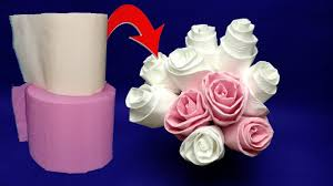 How To Make Rose Flower With Tissue Paper How To Make Rose Flower With Tissue Paper Kadil